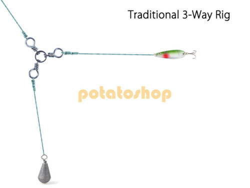 Fishing Three Way Swivel Snap Offshore Stainless Steel Lot 50//100 Jigs 7-143LB
