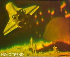 Hologrammbild, 3D, Hologramm, Holographie,  Weltraum Astronaut spaceshuttle