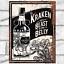 thumbnail 26 - Metal Signs Plaques Vintage Retro Pub Bar Mancave Wall Poster Beer Tin Sign. UK