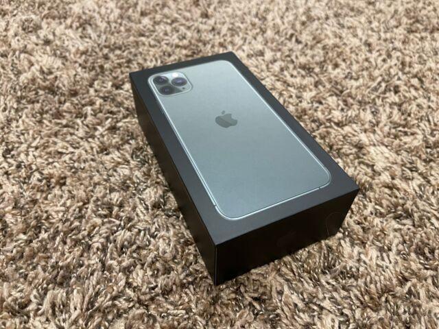 NICE Apple iPhone 11 Pro Max - 256GB - MidnightGreen (Unlocked) w/ APPLECARE