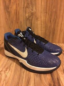 ef3d69ae0832 RARE🔥Nike Zoom Kobe VI Duke Royal Black 429659-400 Men s SZ 12