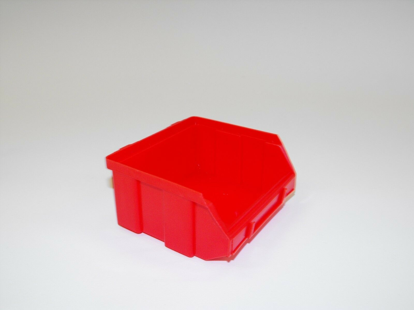 Image of: 1 Harbor Freight Wall Mount Hanging Storage Bin Replacement Red Small Bin Plasti For Sale Online