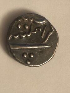 1738-1792, FRENCH INDIA AR FANON or 1/5 RUPEE City of Mahe PONDICHERY MINT, KM67