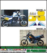 kit adesivi stickers compatibili dr 600 1986