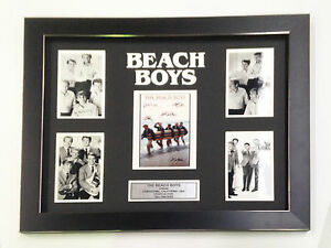 THE-BEACH-BOYS-PROFESSIONALLY-FRAMED-SIGNED-PHOTO-COLLAGE-WITH-PLAQUE