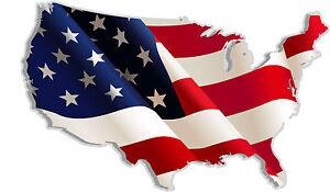 USA-United-States-of-America-mappa-bandiera-adesivo-etichetta-sticker-13cm-x-8cm