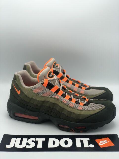 air max 95 orange and green
