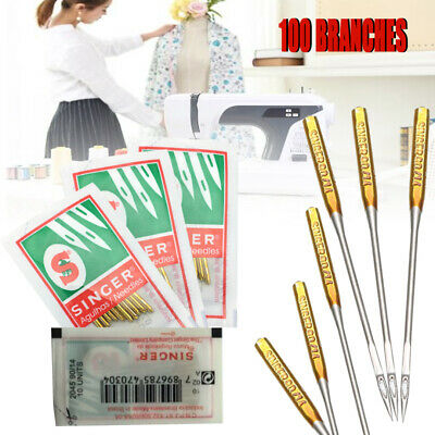 NEEDLES UNIVERSAL 130//705H Home Sewing Machine Sizes 8,9,10,11,12,14,16,18,19