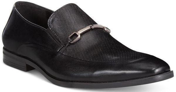 essere molto richiesto Alfani Uomo Dress scarpe Nathan Leather Textured Moc Slip-On scarpe scarpe scarpe 11M,11.5M  migliori prezzi e stili più freschi