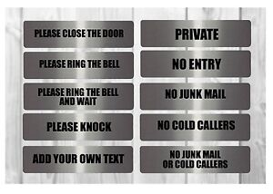 VITAL-SIGNS-BOLD-Large-House-Office-Plaques-Junk-Mail-Beware-Dog-Close-Door