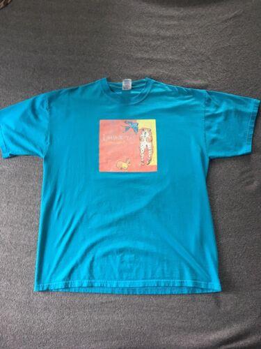 Vintage Dinosaur Jr. Shirt. Zombie Worm Promo Size