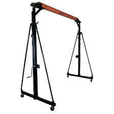 Titan Attachments 05 Ton Telescoping Gantry Crane Portable Shop Lift Hoist