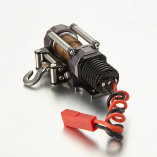 RC Scale 1//10 SCX10 Electric Winch Aluminum Alloy for RC Rock Crawler #1891