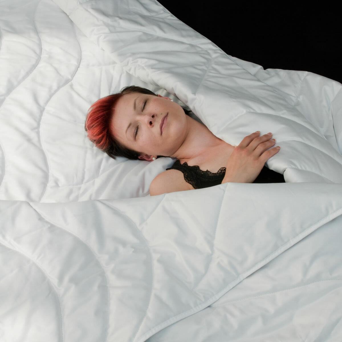 100% Wildseide extra leichte Sommerdecke dünnes Sommerbett Seide Decke waschbar