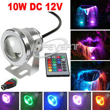 Lampade da parete10W RGB LED Spotlight Underwater Flash Wash Lamp Flood Lights