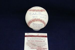 Eddie-Murray-Signed-Autographed-Official-ML-Baseball-W-5-Inscriptions-JSA-W