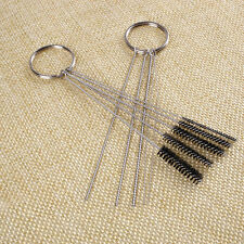 Car ATV Motorcycle Carburetor Carbon Dirt Remove Cleaning Needle Brush Tool Set