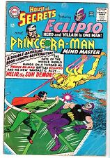House of Secrets #76 Featuring Eclipso & Prince Ra-Man, Very Good Condition!