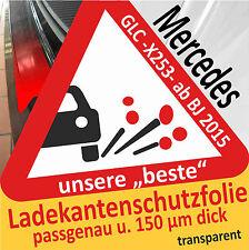 Für Mercedes Benz GLC (X253) Ladekantenschutz Folie Lackschutzfolie trans.