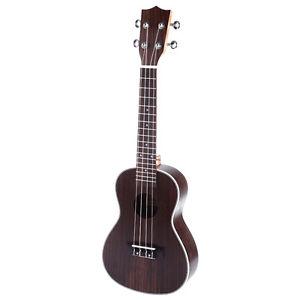 """New 23"""" Exquisite Rosewood Concert Ukulele Instrument Hawaiian Guitar"""
