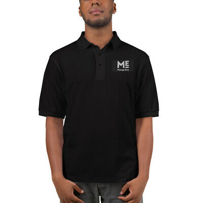 Printed PHYSIOTHERAPIST Name Sports Polo T Shirt Gym Black Massage