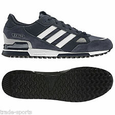 adidas ZX 750 Unisex Gymnastics Shoes, Size 10UK NavyWhiteDark Navy