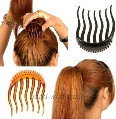 Volume Inserts Hair Clip Bumpits Bouffant Ponytail Hair Comb Bun Maker,1PC