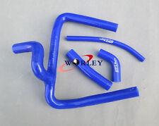 Fit Honda CR250 CR250R CR 250 2002 02 silicone radiator hose Kit 2 strokes