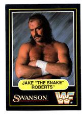 "1991 Swanson WWF Wrestling card: Jake ""The Snake"" Roberts"