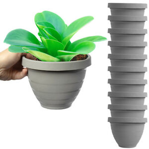 10pk 6 Inch Self Watering Planters For Indoor Plants Garden House