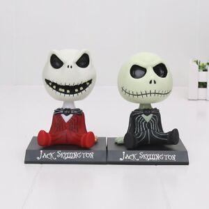 Jack-Skellington-Figur-Wackelkopf-Film-Nightmare-Before-Christmas-Bobblehead-NEU
