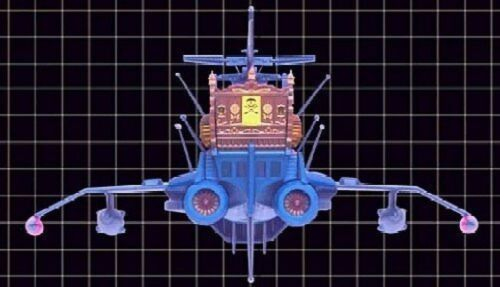 Space Pirate Captain Harlock Super Mechanics Arcadia Figure Toy Anime Jp TAITO