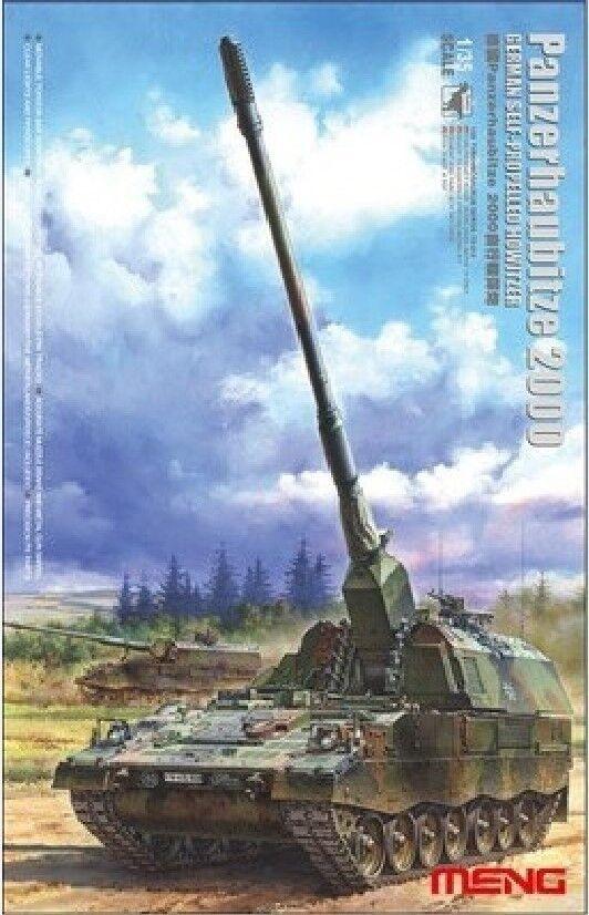 Meng 1 35 Model TS-012 German Slef- Propelled Howitzer Phz2000 Hot