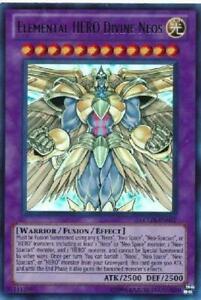 Elemental HERO Divine Neos LCGX-EN077 Ultra Rare NM Yugioh Card