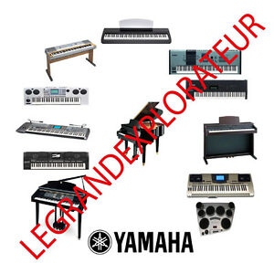 ultimate yamaha portasound portatone keyboard repair service manual