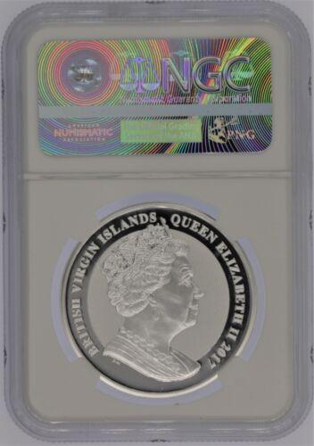 2017 $1 oz Silver Kennedy NGC Reverse Proof  PF 70 1 of FIRST 2000 STRUCK JFK