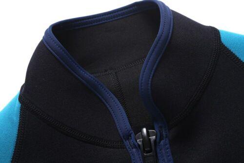 Men 2MM Neoprene Long Sleeve Jacket Wetsuit Scuba Diving Suit Snorkeling Shirts