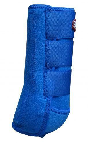 ROYAL blueE Showman Horse Elite Sports Medicine Splint Support Leg Tendon Boots
