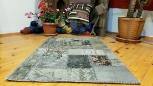 Vintage-Bohemian-Overdyed-Patchwork-Rug-2-039-x-3-039-5-034