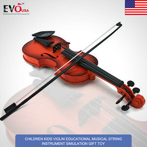 Children-Kids-Practice-Violin-Bow-Steel-String-Musical-Instrument-Toy-A-Sound