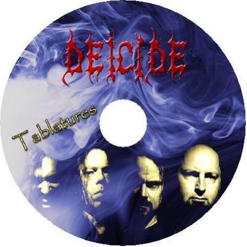 DEICIDE BASS /& GUITAR TAB CD TABLATURE GREATEST HITS BEST ROCK MUSIC METAL