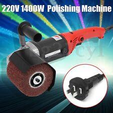 220V 1400W Electric Burnishing Polishing Machine Polisher Sander Pad + Wheel