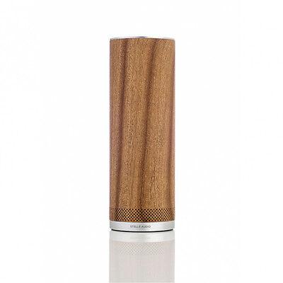 Stellé Audio Pillar - Bluetooth Speaker 360° aktiv - Caramel Wood - Design