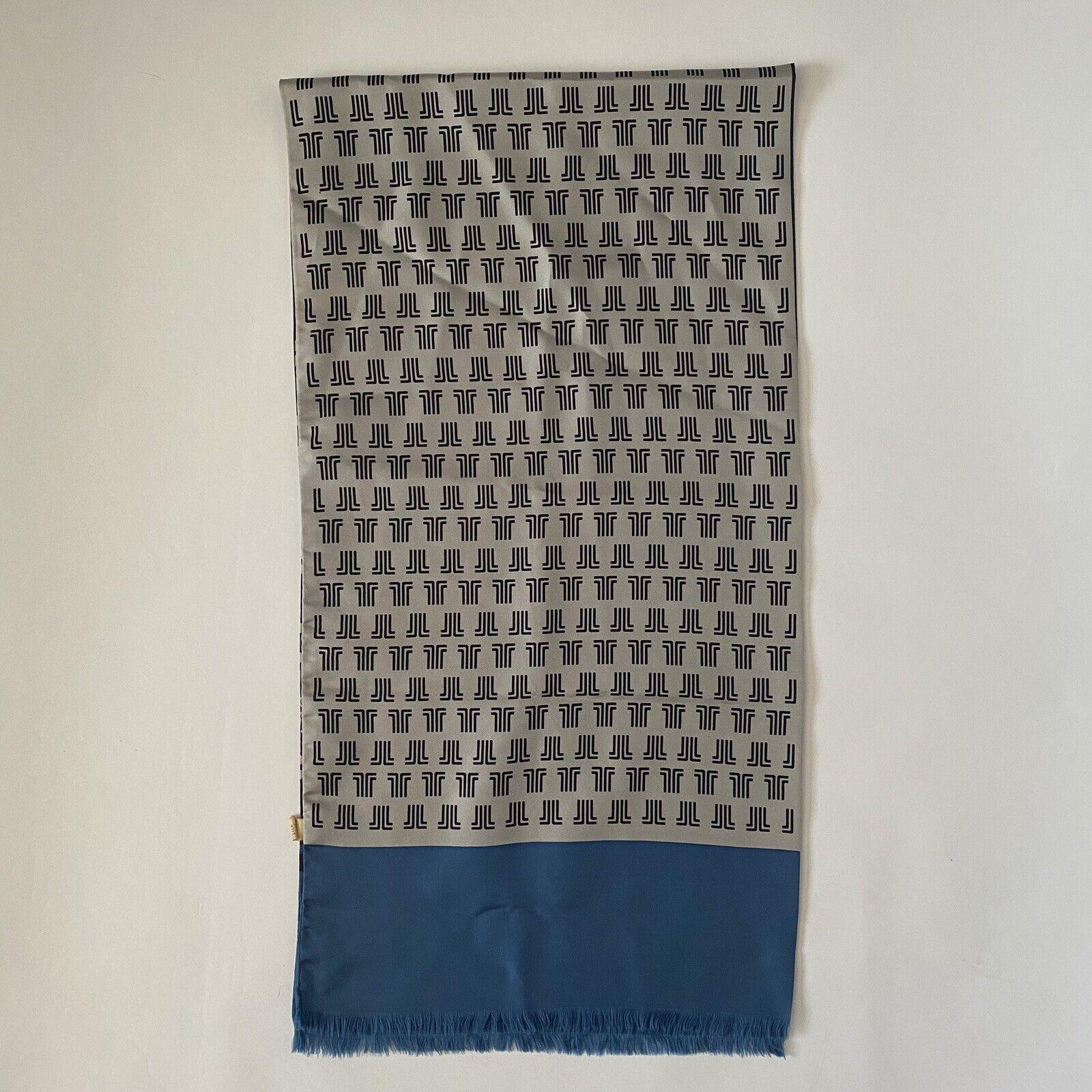 Vintage 70s Lanvin Geometric Silk Scarf - image 5