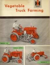 1939 Farmall Cub Tractor Farmall Super A Tractor Amp Farm C Tractor Brochure