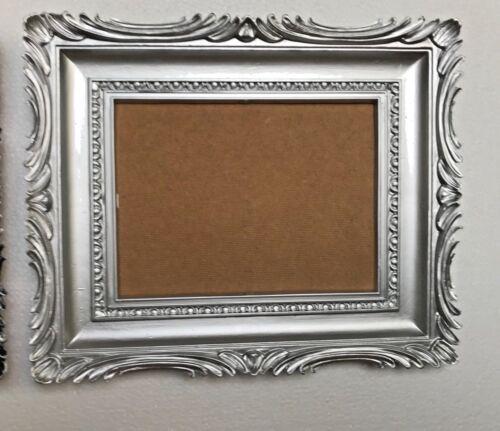 Cadre Photo Baroque Or Argent 33x28cm Noir Argent Cadre Photo aufhängebar