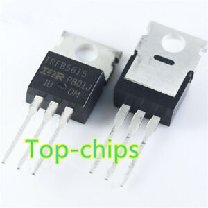 10PCS-IRFB5615-IRFB5615PBF-New-Best-Offer-N-CH-Si-150V-150A-3-Pin-3-Tab-TO-220