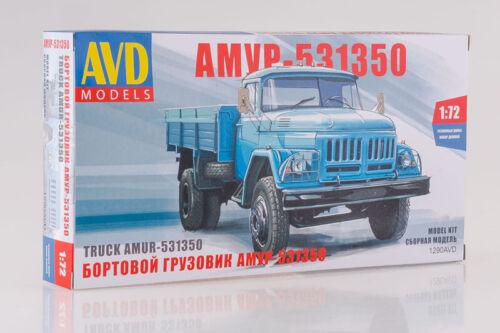 AVD Models 1290AVD 1:72 AMUR-531350 Russian Board Truck