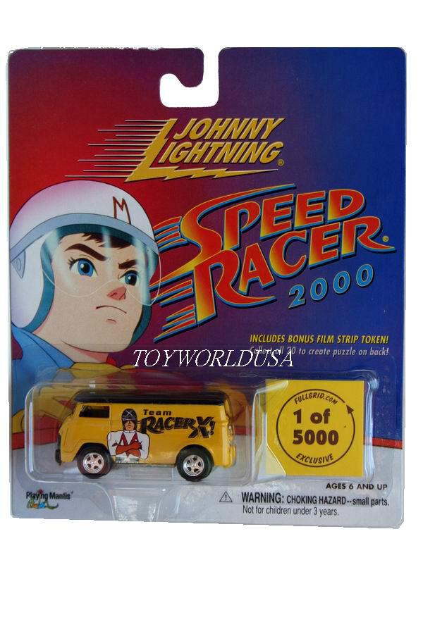 2001 Johnny Lightning SPEED RACER 2000 Volkswagen Bus Team Racer X 1 5000