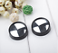 360° None Dead Angle For Car Blind Spot Glass Mirror Rotatable Rear View Stick